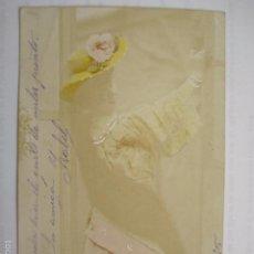 Postales: POSTAL ROMANTICA. ED. LYCHNOGRAVURE. ESCRIBIR 1905.. Lote 58666627
