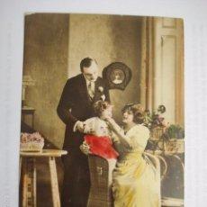 Postales: POSTAL ROMANTICA ITALIANA. SIN ESCRIBIR.. Lote 58666639