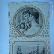 Postales: POSTAL ROMANTICA TROQUELADA. SIN ESCRIBIR.. Lote 58697924