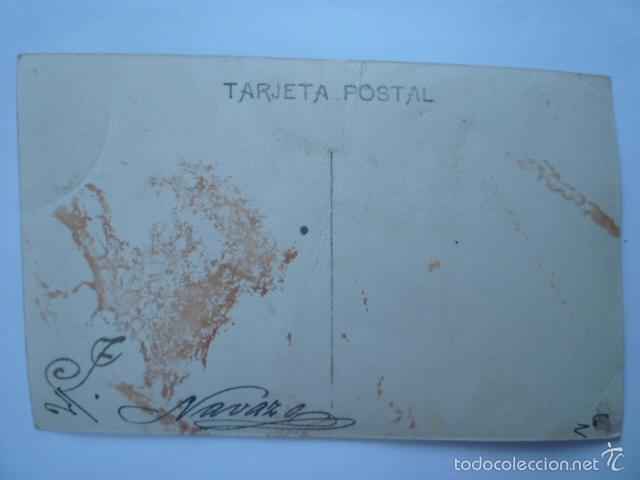 Postales: POSTAL FAMILIAR COLOREADA. ESCRITA. - Foto 2 - 58751326