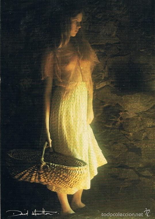 POSTAL. FOTOGRAFÍA DE DAVID HAMILTON. ÉDITIONS AGEP. MADE IN FRANCE (Postales - Postales Temáticas - Galantes y Mujeres)