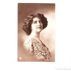 Postales: POSTAL MUJER FECHADA EN 1913. Lote 61686732