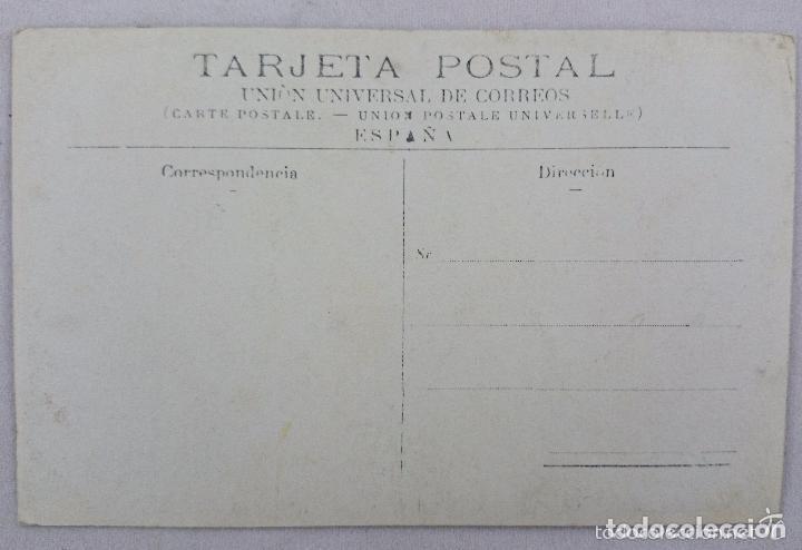 Postales: POSTAL BLANCO Y NEGRO MUJER CON SOMBRERO. UNIÓN UNIVERSAL DE CORREOS - Foto 2 - 62393700