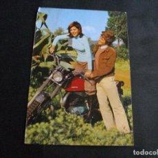 Postales: POSTAL PAREJA Y MOTO MONTESA : ? LA DE LAS FOTOS VER TODOS MIS LOTES DE POSTALES. Lote 66527274