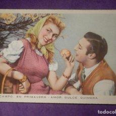 Postales: POSTAL - ROMANTICA - EL CAMPO EN PRIMAVERA - AMOR DULCE QUIMERA - CYZ - 537. Lote 66791190