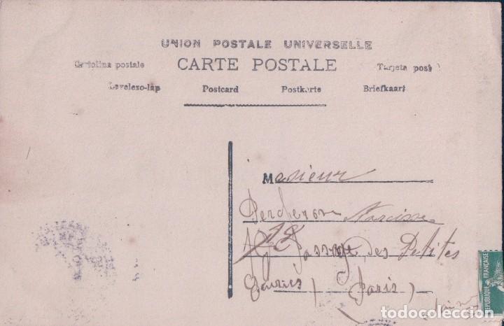 Postales: POSTAL MUJER ROMANTICA COLOREADA. LOTUS 563. CIRCULADA - Foto 2 - 67293685