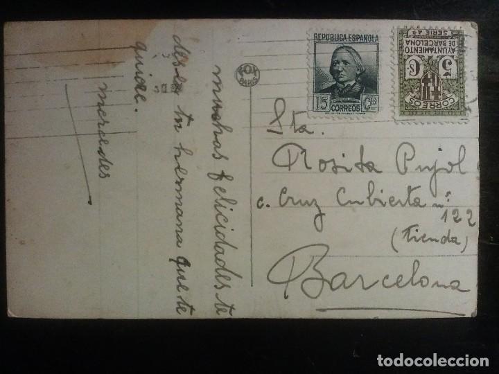 Postales: POSTAL COLOREADA PAREJA DE ENAMORADOS REPUBLICA - Foto 3 - 67362593