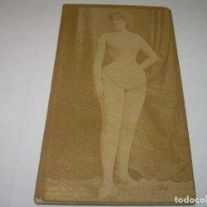 Postales: ANTIGUA POSTAL SIGLO XIX...CON PUBLICIDAD.. Lote 68863945