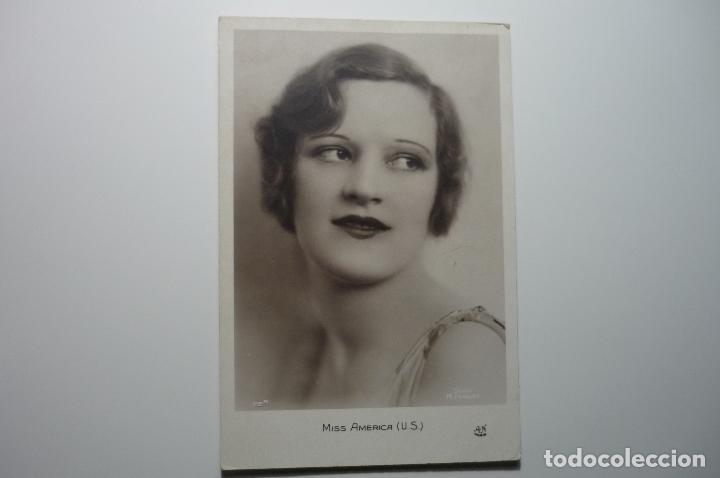POSTAL MISS AMERICA BB (Postales - Postales Temáticas - Galantes y Mujeres)