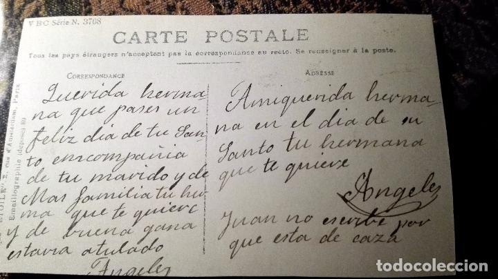 Postales: Antigua tarjeta postal. Niña. Principios del siglo XX - Foto 2 - 71215769