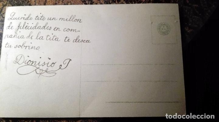 Postales: Antigua tarjeta postal. Pareja. Principios del siglo XX - Foto 2 - 71215817