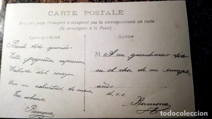 Postales: Antigua tarjeta postal. Pareja. Principios del siglo XX - Foto 2 - 71215945
