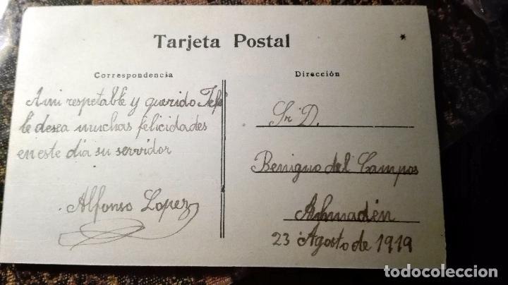 Postales: Antigua tarjeta postal. Niñas. Principios del siglo XX - Foto 2 - 71215989