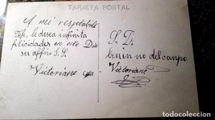 Postales: Antigua tarjeta postal con relieve. Niños. Principios del siglo XX - Foto 2 - 71216029