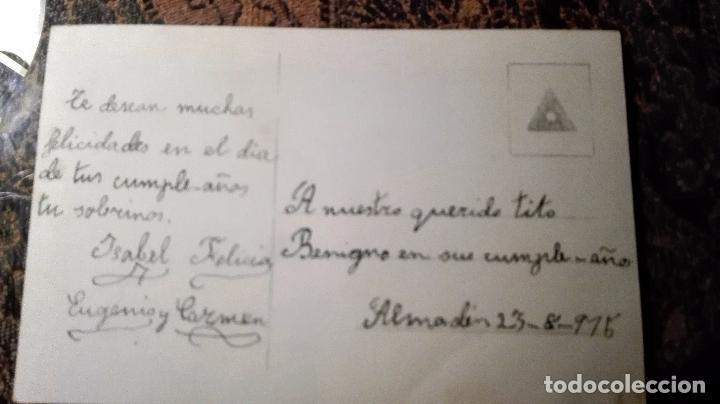 Postales: Antigua tarjeta postal. Niñas. Principios del siglo XX - Foto 2 - 71216133