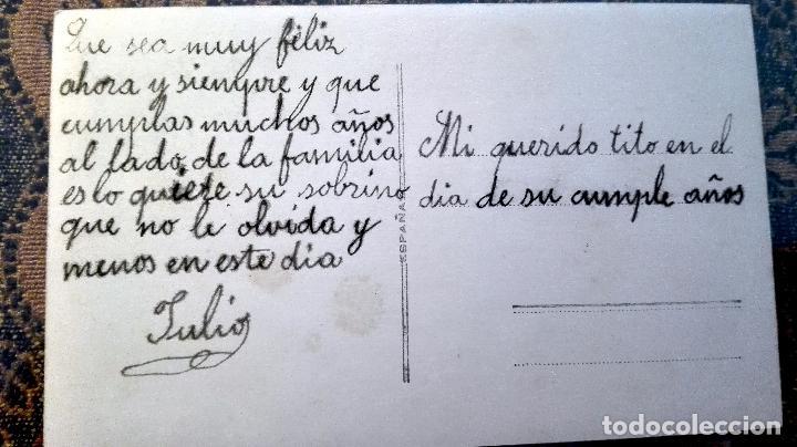 Postales: Antigua tarjeta postal conrelieve Niños. Principios del siglo XX - Foto 2 - 71216217