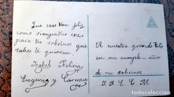 Postales: Antigua tarjeta postal. Niña. Principios del siglo XX - Foto 2 - 71216297