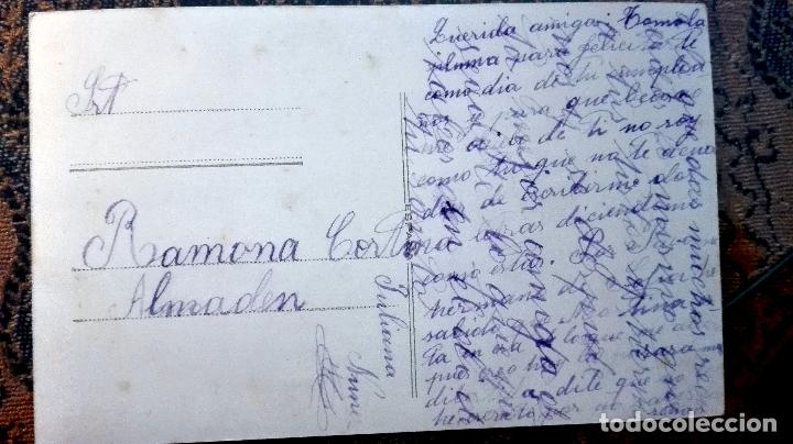 Postales: Antigua tarjeta postal. Mujer. Principios del siglo XX - Foto 2 - 71216509