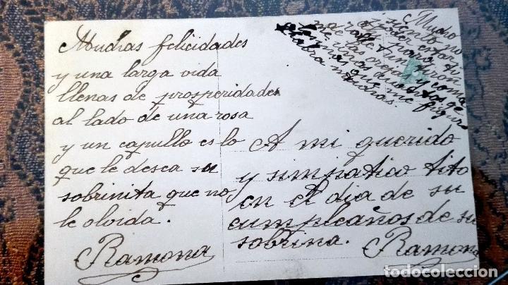 Postales: Antigua tarjeta postal. Niños. Principios del siglo XX - Foto 2 - 71216557