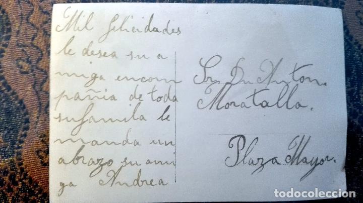 Postales: Antigua tarjeta postal. Pareja. Principios del siglo XX - Foto 2 - 71218169