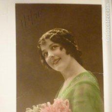 Postales: POSTAL ROMANTICA COLOREADA. ESCRITA 1918.. Lote 74205815