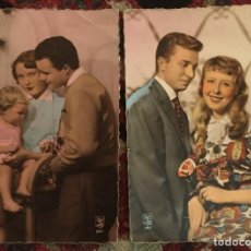 Postales: 3 POSTALES PAREJAS AÑOS 60. Lote 74707071