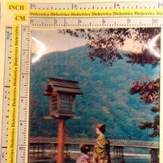 Postales: POSTAL DE MUJERES DE JAPÓN. ESTEREOSCÓPICA. MUJERES JAPONESAS. 157. Lote 222339702