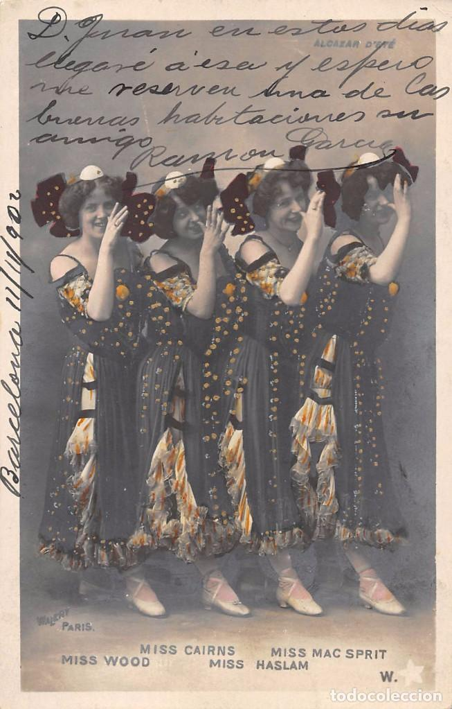 Postales: MISS CAIRNS, MISS MAC SPRIT, MISS WOOD, MISS HASLAM - Foto 1 - 77302601