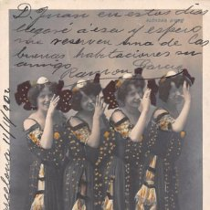 Postales: MISS CAIRNS, MISS MAC SPRIT, MISS WOOD, MISS HASLAM. Lote 77302601