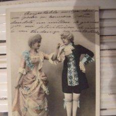 Postales: POSTAL ANTIGUA - DANSES LOUIS XV - S.I.R. 200/4 - FOTOGRAFIA COLOREADA - CIRCULADA . Lote 77925329