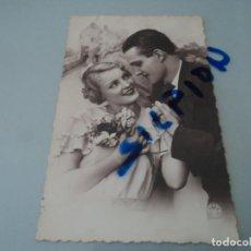Postales: A. NOYER 2697 PAREJA DE ENAMORADOS CIRCULADA 1934 SELLO NICOLAS SALMERON. Lote 78390709