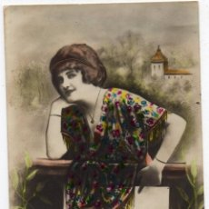 Postales: PS7444 POSTAL FOTOGRÁFICA DE FELICITACIÓN 'PEPITA'. CIRCULADA. 1915. Lote 79115725