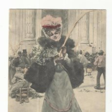 Postales: TARJETA POSTAL DOMINGO DE RAMOS ESCRITA A 1901. Lote 80630534