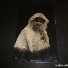 Postales: AMALIA MOLINA ACTRIZ CUPLETISTA ESPAÑOLA POSTAL. Lote 170445366