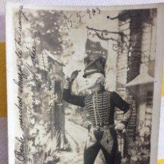 Postales: POSTAL LE BILLET DE LOGEMENT TEATRO 1903 MILITAR FRANCES GIJÓN DISEÑO H.MANUEL S.I.P 65 SERI 1. Lote 82021172