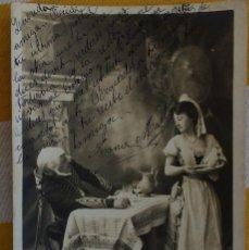 Postales: POSTAL LE BILLET DE LOGEMENT TEATRO 1903 MILITAR UNIFORME FRANCES DISEÑO H.MANUEL S.I.P65 SERIE 7. Lote 214104032