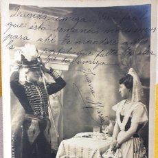 Postales: POSTAL LE BILLET DE LOGEMENT TEATRO 1903 MILITAR FRANCES GIJÓN DISEÑO H.MANUEL S.I.P65 SERIE 9. Lote 214104058