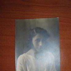 Postales: FOTO POSTAL MUJER DE EPOCA. SIN CIRCULAR. . Lote 82813916