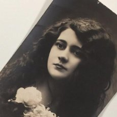 Postales: FOTO - POSTAL RETRATO DAMA JOVEN (1912). Lote 84133520