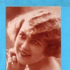 Postales: POSTAL BELLA DAMA EDITO FRANCIA ESCRITA EL AÑO 1927. Lote 85112644