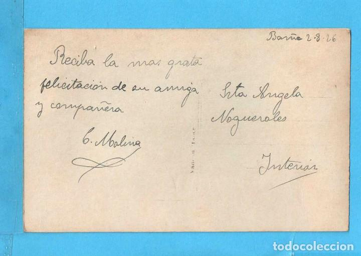 Postales: Postal Bella Dama Edito Francia Escrita El Año 1927 - Foto 2 - 85112644