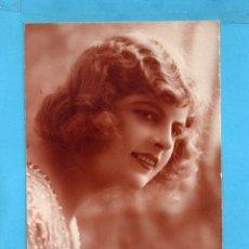 Postales: POSTAL BELLA DAMA EDITO FRANCIA ESCRITA EL AÑO 1926. Lote 85112736