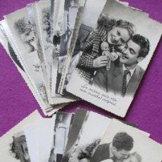 Postales: LOTE 34 POSTALES ROMANTICAS, GALANTES Y MUJERES, VER FOTOS ADICIONALES. Lote 86218356