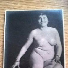 Postales: POSTAL ERÓTICA ANTIGUA. FOTOGRÁFICA. TARJETA POSTAL ESPAÑA. SOBRE 1910-1929. Lote 86567544
