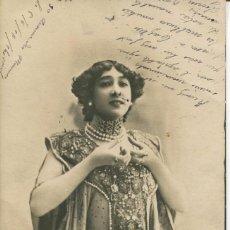 Postales: LA BELLA OTERO-FOTO REUTLINGER-1901-. Lote 86954296