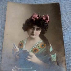 Postales: POSTAL ROMANTICA COLOREADA. Lote 89744512