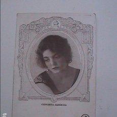 Postales: LA DIVA CONCHITA SUPERVIA. 1915. TARJETA POSTAL SIN CIRCULAR. ODEON.. Lote 92198890