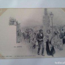 Postales: POSTAL ¡AL SANTO!. HAUSER Y MENET. DE BLANCO Y NEGRO REVISTA ILUSTRADA.. Lote 93823860