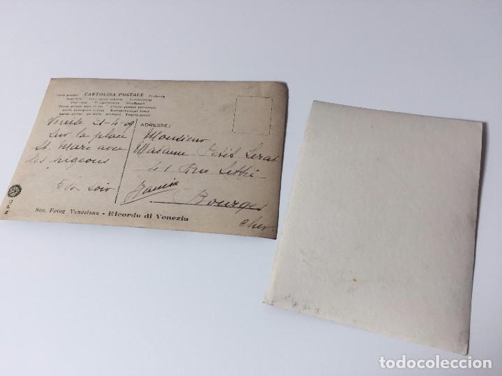 Postales: 2 FOTOS ANTIGUAS DE VENECIA (SAN MARCO) 1909 - Foto 2 - 95961379