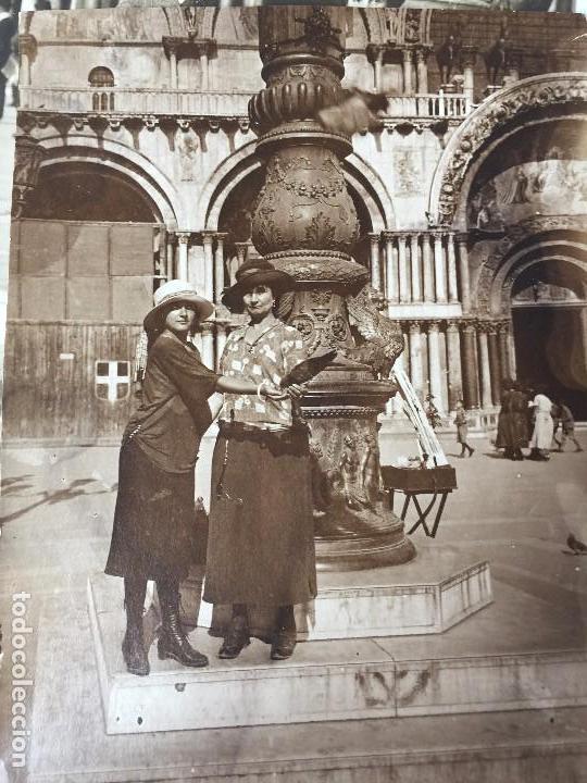 Postales: 2 FOTOS ANTIGUAS DE VENECIA (SAN MARCO) 1909 - Foto 5 - 95961379